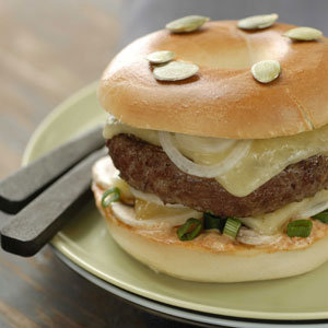 Hamburger au Salers