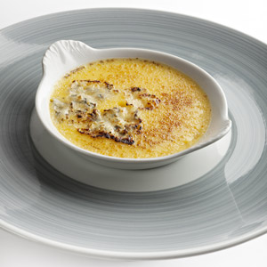 Crème brûlée à la Fourme d'Ambert