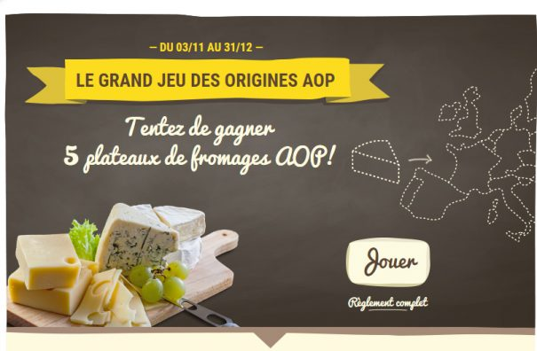 Fromages AOP : grand jeu des origines