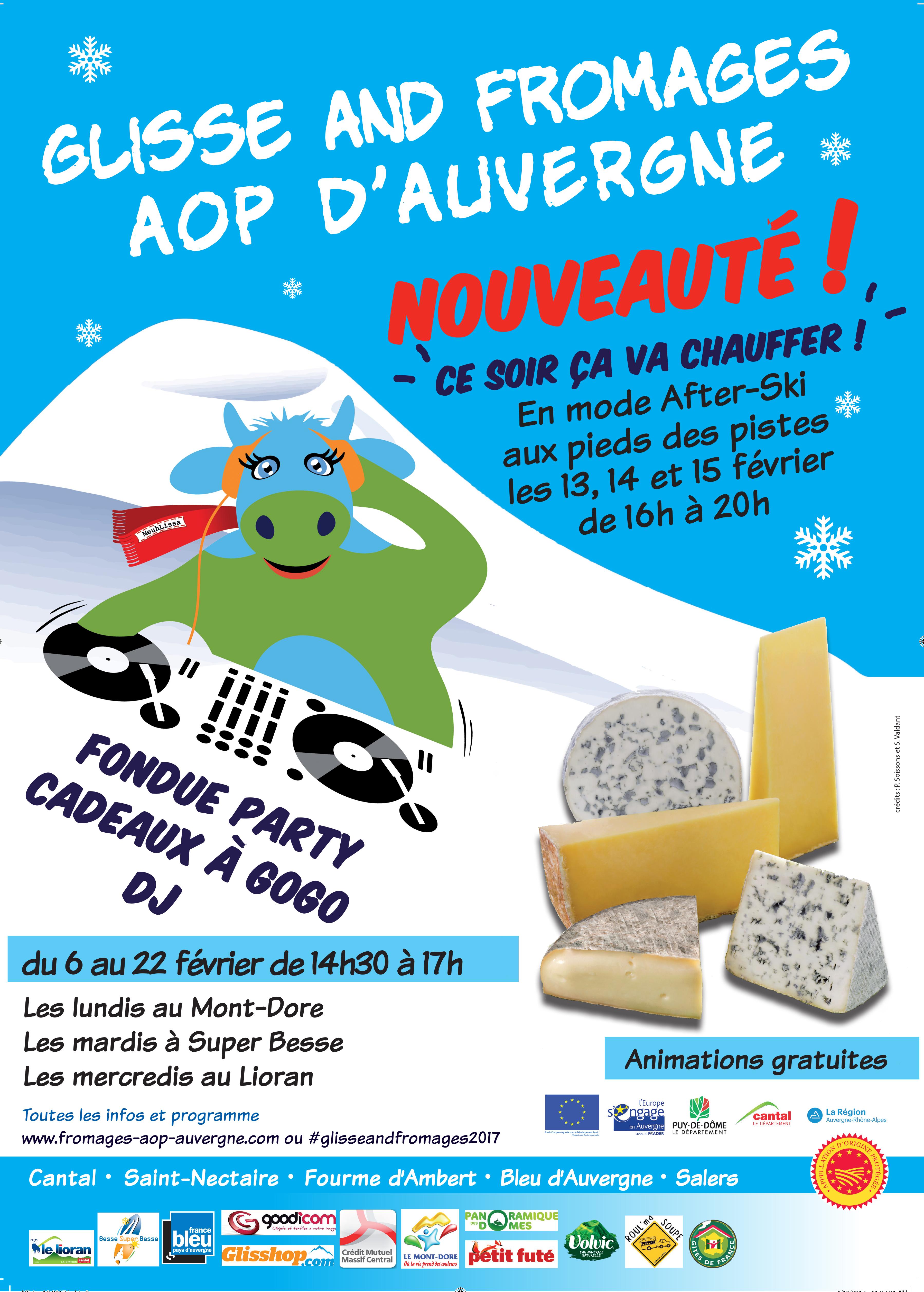 glisse and fromages association des fromages aop d 39 auvergne. Black Bedroom Furniture Sets. Home Design Ideas