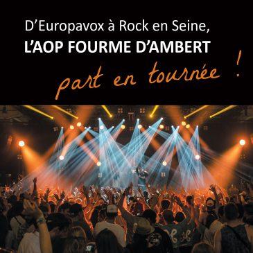 La Fourme d'Ambert part en tournée !