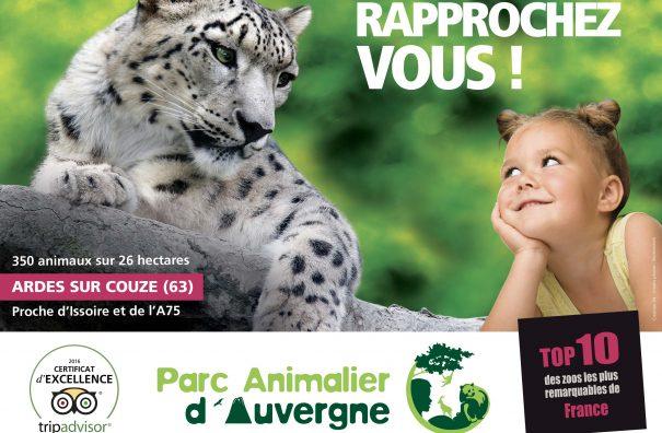 Les Fromages AOP d'Auvergne partenaires du Parc Animalier d'Auvergne