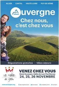 L'Auvergne, chez nous, c'est chez vous.