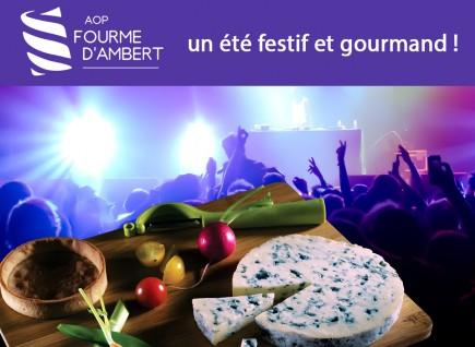 Un été festif avec l'AOP Fourme d'Ambert