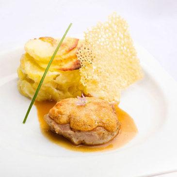 Filet mignon de porc au Saint-Nectaire
