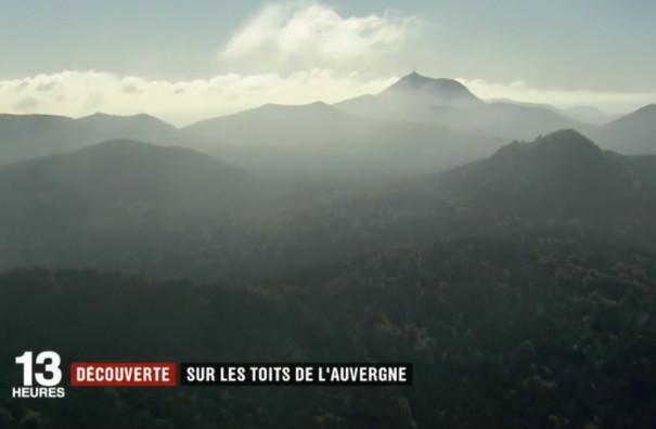 Sur les toits de l'Auvergne