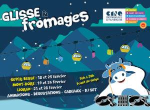 Le Glisse and Fromages est de retour !