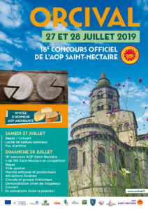 Concours Officiel du Fromage AOP Saint-Nectaire