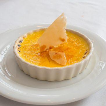 Crème brûlée au Cantal