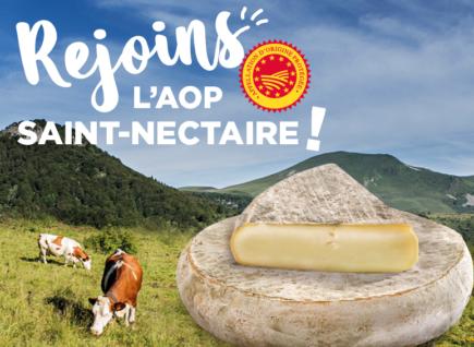 Rejoins l'AOP Saint-Nectaire !