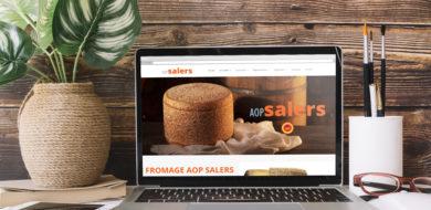 Nouveau site web pour le fromage AOP Salers