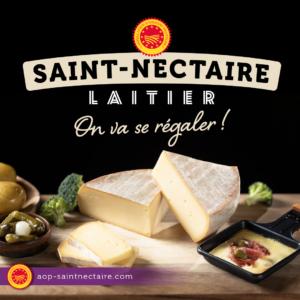 « ON VA SE RÉGALER » LA NOUVELLE CAMPAGNE GOURMANDE DE L'AOP SAINT-NECTAIRE LAITIER