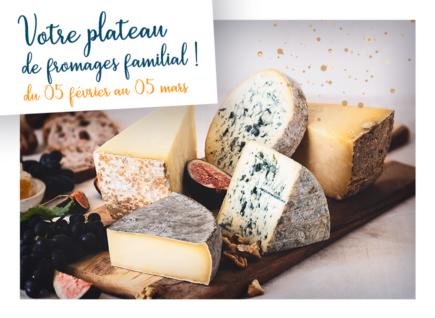 Gagnez votre plateau de fromages AOP d'Auvergne
