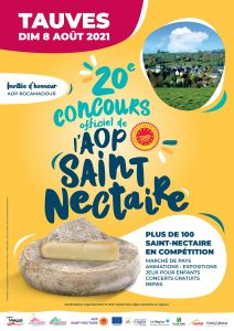Concours Officiel de l'AOP Saint-Nectaire